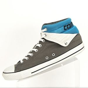 9046f570a876 Converse Shoes - CONVERSE Mens CT PC PEEL BACK MID IN CHARCOAL Blue